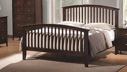 Double Oak Bed