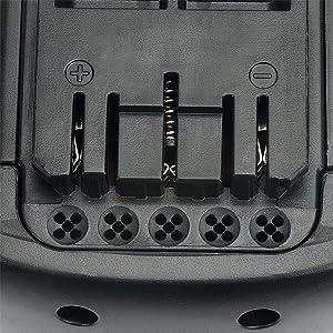 PowerGiant 36V 3.0Ah Lithium-Ion Replacement Battery for Bosch BAT818 BAT836, 11536VSR 18636 18636-01 38636-01 GBH GKS 36 V-Li