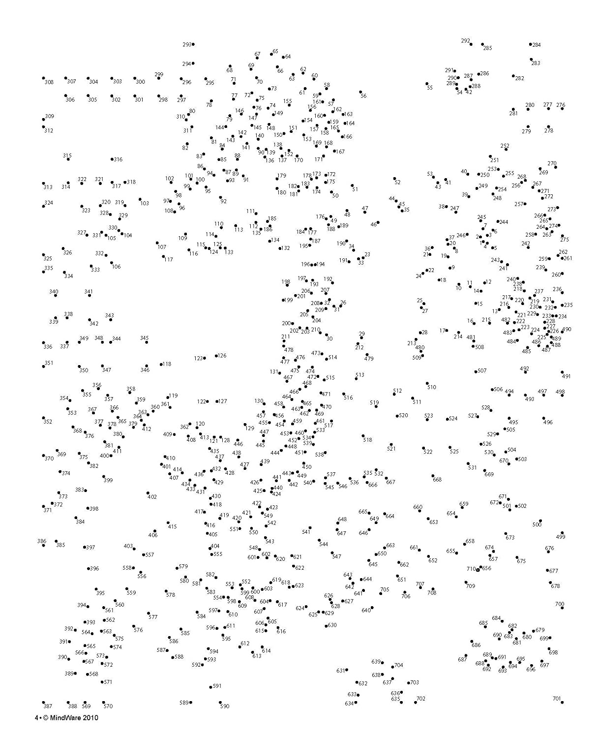 Breathtaking image for free extreme dot to dot printable