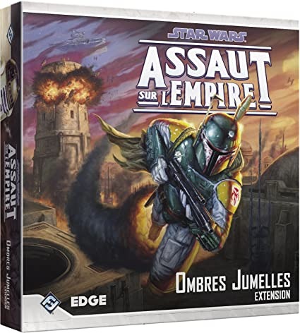 Asmodee - UBISWI10 - Star Wars Assaut Empire - Ombres Jumelles