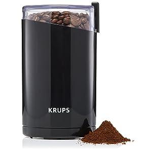 KRUPS Stainless Steel Blade Coffee Grinder width=