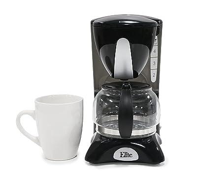Elite Cuisine EHC-2022 Maxi-Matic 4 Cup Coffee Maker Via Amazon