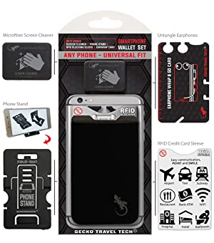 Dog Paw Phone Pocket Paws Card Holder Dog Paws Phone Case by Gecko