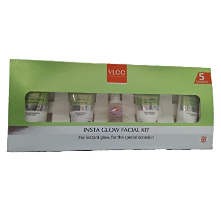 VLCC Insta Glow Facial Kit, 210g at amazon
