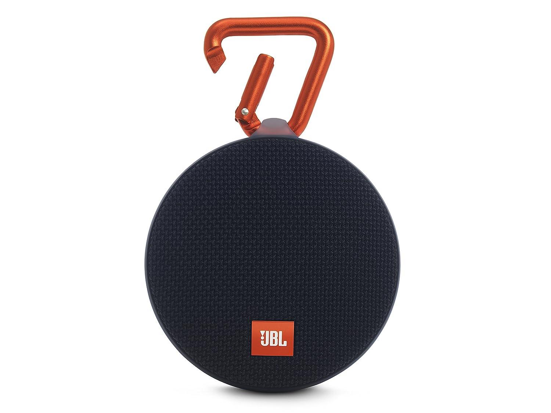 JBL Clip 2 Waterproof Ultra Portable Speaker (Black)