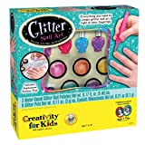 Creativity for Kids Glitter Nail Art - Glitter Manicure Kit for Kits