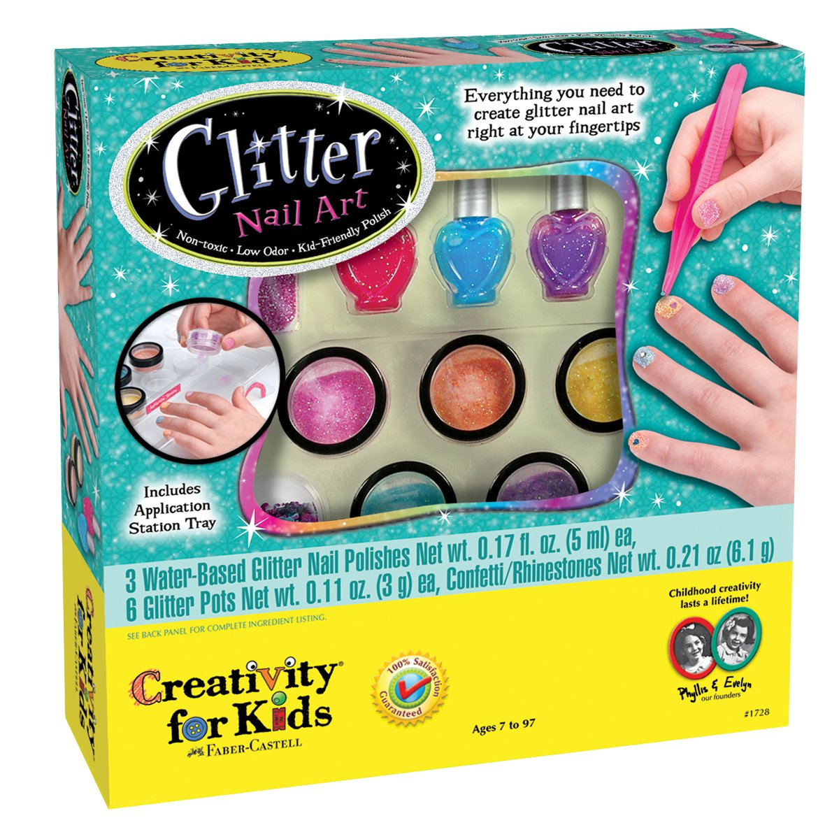 Glitter Nail Art Kit for Girls only $16! (Reg. $21.99) - All About the ...