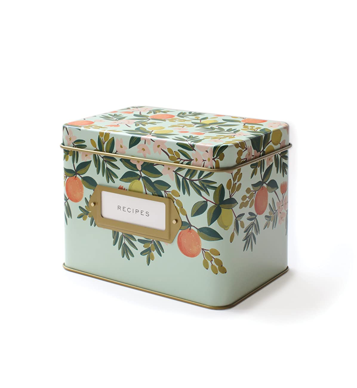 Rifle Paper Co. Recipe Box - Citrus Floral 0