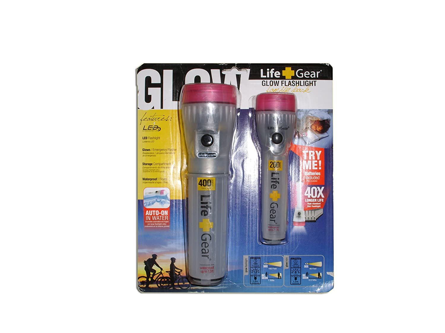 Life Gear Pink Family Pack