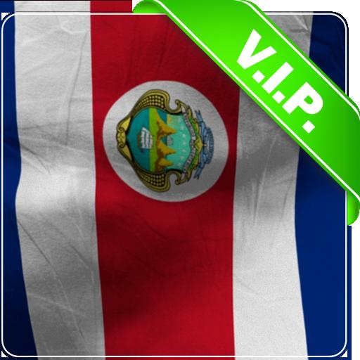 Costa Rica Flag Lwp