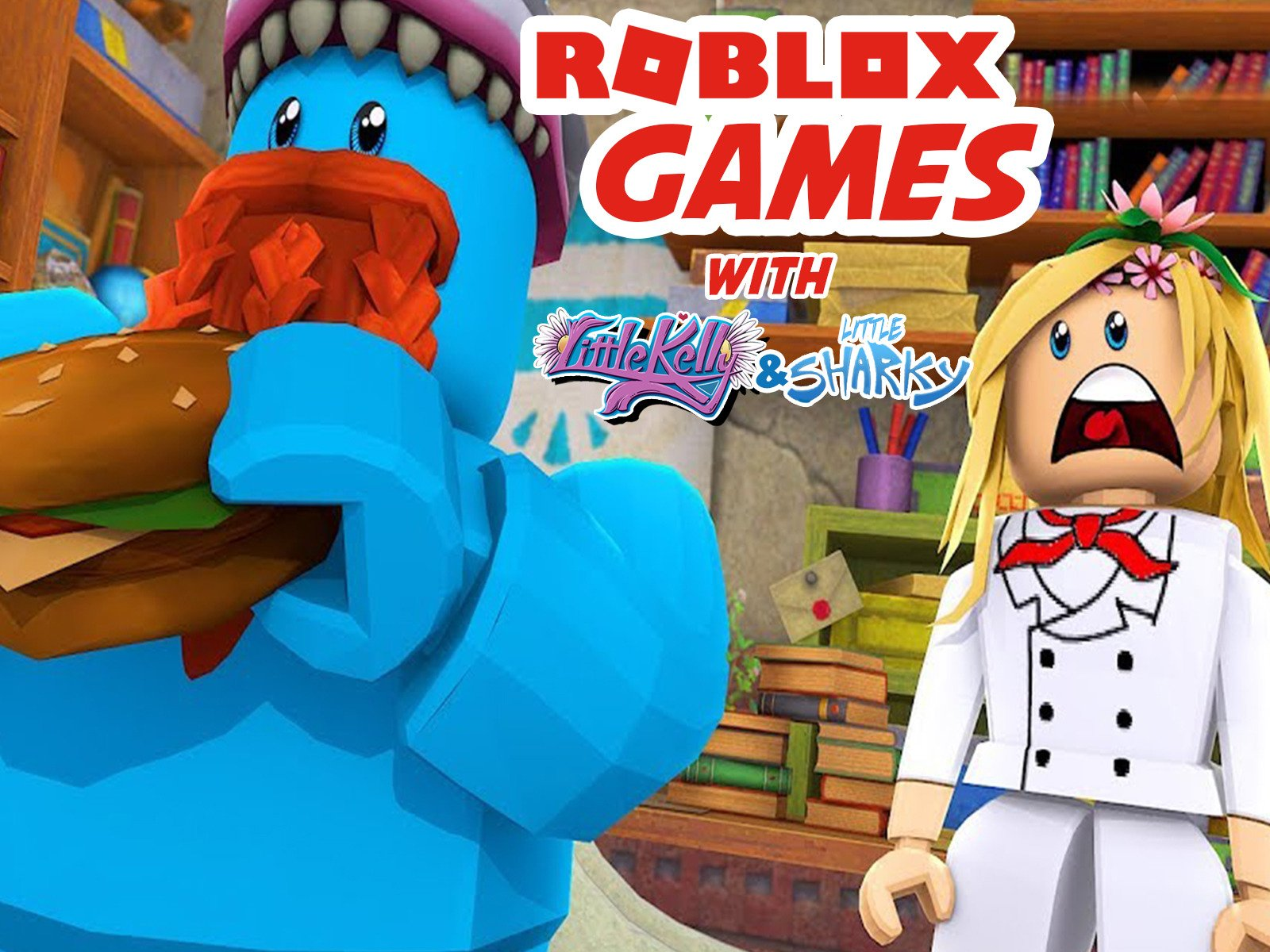 Clip: Roblox Games with Little Kelly & Little Sharky - Season 1