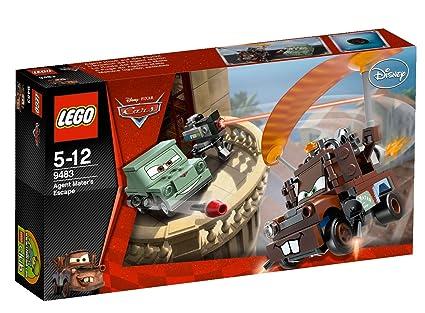 LEGO Cars - 9483 - Jeu de Construction - L'Évasion de l'Agent Martin