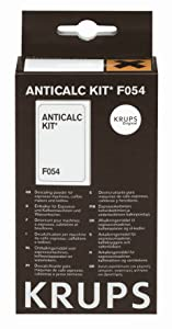 Krups F054001B - Kit descalcificación para cafeteras   Más información y revisión del cliente