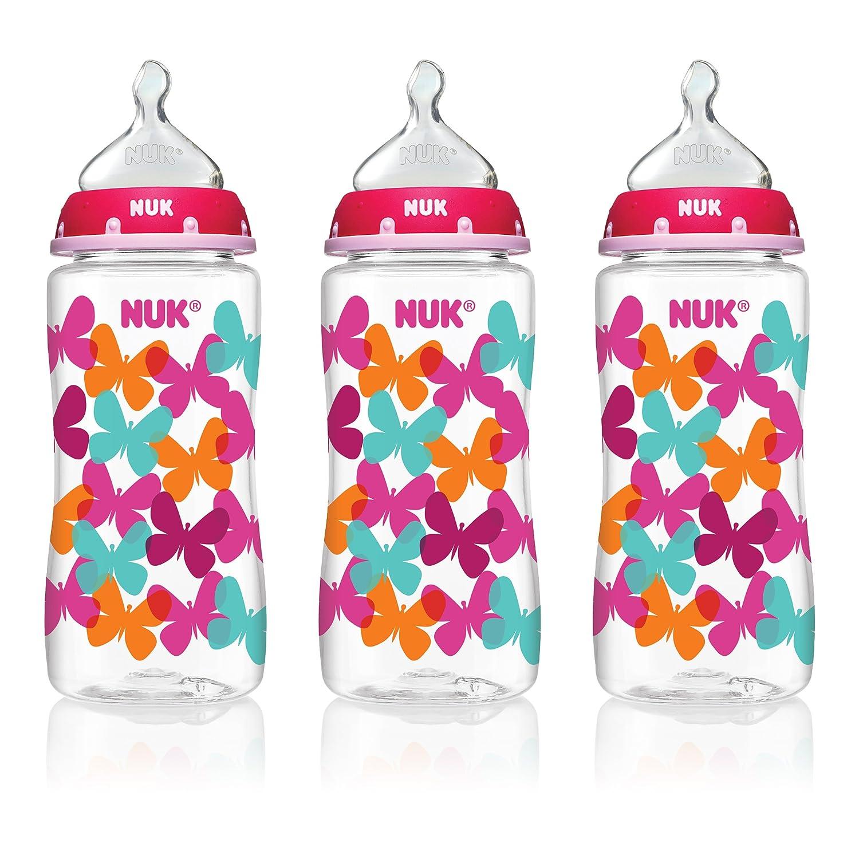 NUK Trendline婴儿奶瓶 300ml*3支 .39 - 第1张  | 淘她喜欢