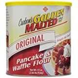Golden Malted Pancake & Waffle Flour, Original, 33-Ounce Cans (Pack of 3) (Packaging May Vary) (Tamaño: 33 Ounce (Pack of 3))