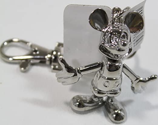 This is on my Wish List: Disney Mickey Mouse Silver Articulating Keychain