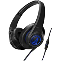 Audio-Technica SonicFuel Over-Ear Wired Headphones (Black)