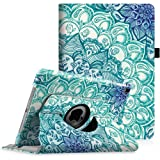 Fintie iPad Pro 9.7 Case - 360 Degree Rotating Case with Smart Stand Cover Auto Sleep/Wake Feature for Apple iPad Pro 9.7 inch (2016 Version), Emerald Illusions (Color: ZA-Emerald Illusions, Tamaño: 9.7 Inch)