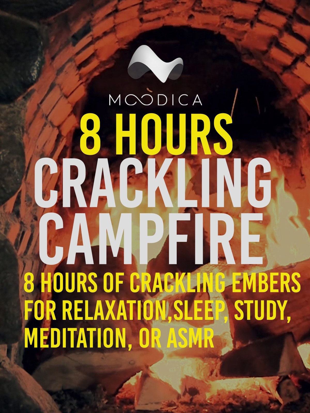 8 hours: Crackling Campfire: 8 Hours of Crackling Embers for Relaxation, Sleep, Study, Meditation, or ASMR