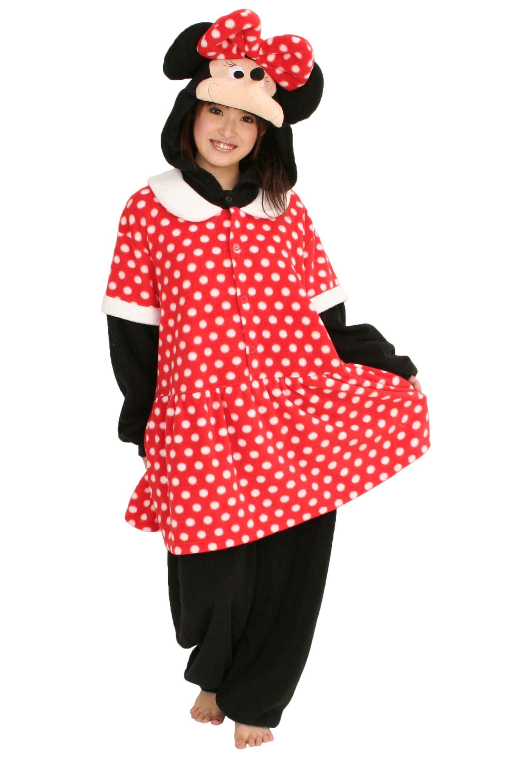Minnie Mouse Pajama Costume Kigu