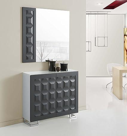 Commodes avec des Portes de Design Moderne : Modèle MILAN