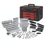 WORKPRO 320-Piece Mechanics Tool Kit, Professional Socket Set with Heavy Duty Case Box (Tamaño: 320-pieces)