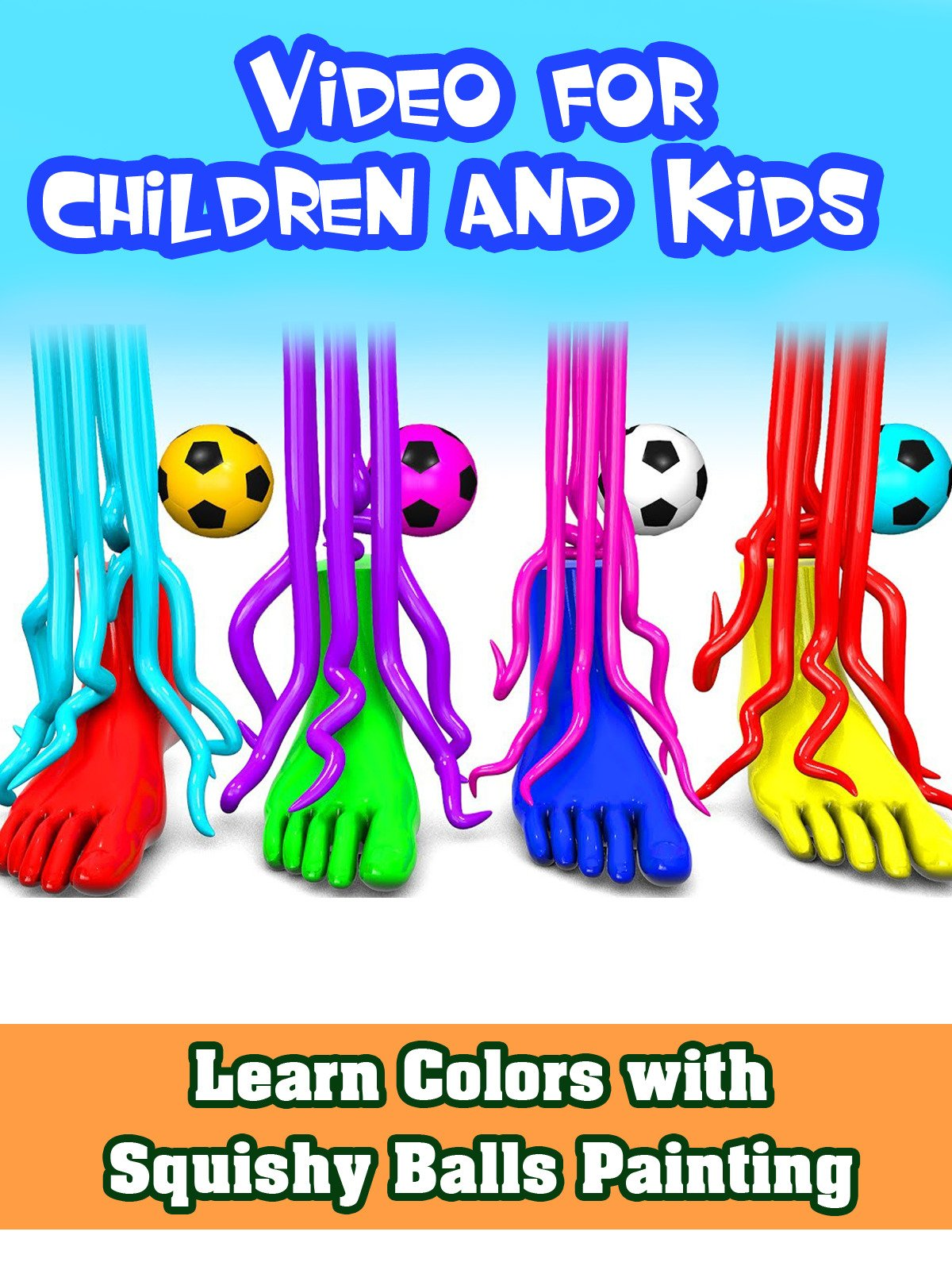 Learn Colors With Pasta Machine Making Painting Foot