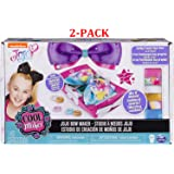 Cool Maker - JoJo Siwa Bow Maker with Rainbow and Unicorn Patterns, for Ages 6 and Up (New Unicorn Version (2-Pack))