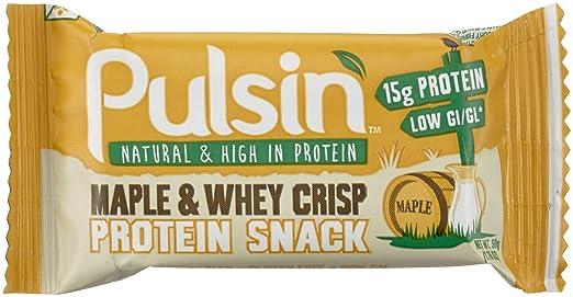 Pulsin' 50-g Protein-Sport - Packung enthält 18 Riegel, 1er Pack (18 x 50 g)