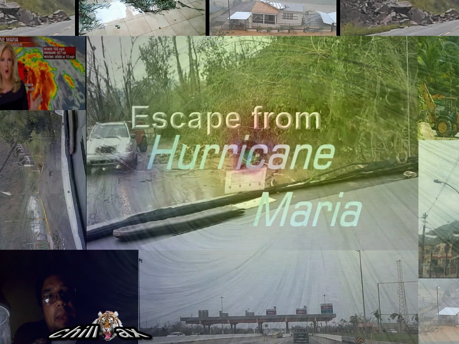 Escape from Hurricane Maria