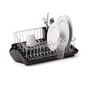 farberware 3 piece dish rack set review