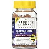 Zarbee's Naturals Children's Sleep with Melatonin Supplement, Gummies, Natural Mixed Fruit Flavor, 50 Count