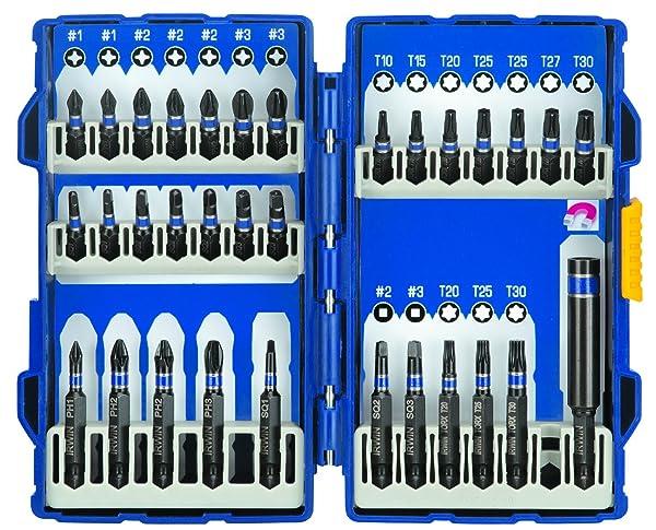 Irwin Tools  1840317 32-Piece Impact Series Fastener Drive Set
