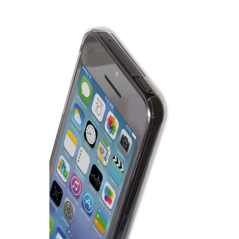 iphone5cの美しいデザインを邪魔しないポリカーボネート素材