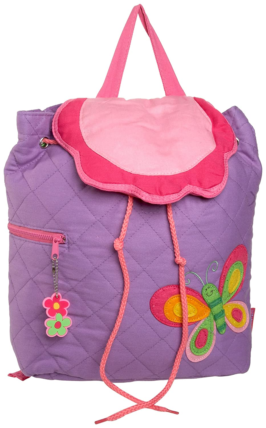 Stephen Joseph Girls Butterfly Quilted Backpack
