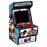 Golden Security Mini Arcade Game Machine RHAC01 156 Classic Handheld Games Portable Machine for Kids&Adults with 2.8