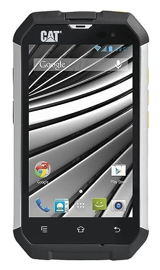Smartphone CAT B15Q, 4 pouces, appareil photo 5MP, processeur quad-core de 1,3 GHz, Android 4.4 KitKat - Argent