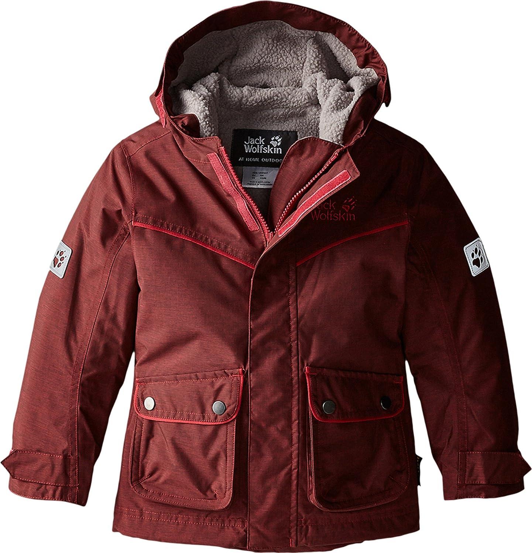 Jack Wolfskin Girls Nova Scotia Texapore Insulated Jacket – Pale Berry – – Wasserdichte warme Mädchen Winterjacke jetzt bestellen