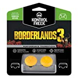 KontrolFreek Borderlands® 3 Claptrap Performance Thumbsticks for Xbox One | 2 Mid-Rise Convex Thumbsticks | Yellow (Color: Yellow)