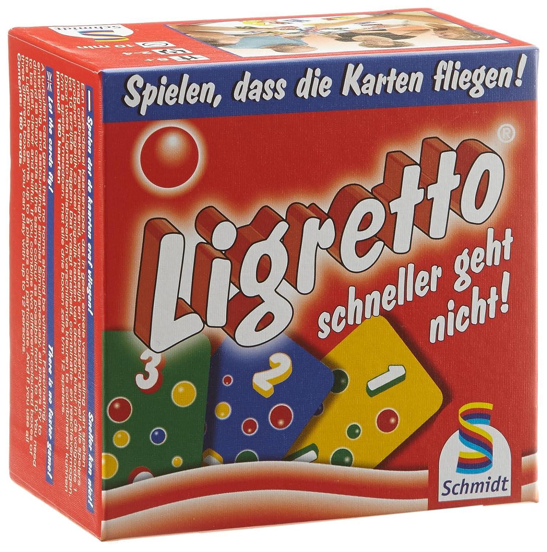 Schmidt Spiele 01301 – Ligretto, rot günstig als Geschenk kaufen