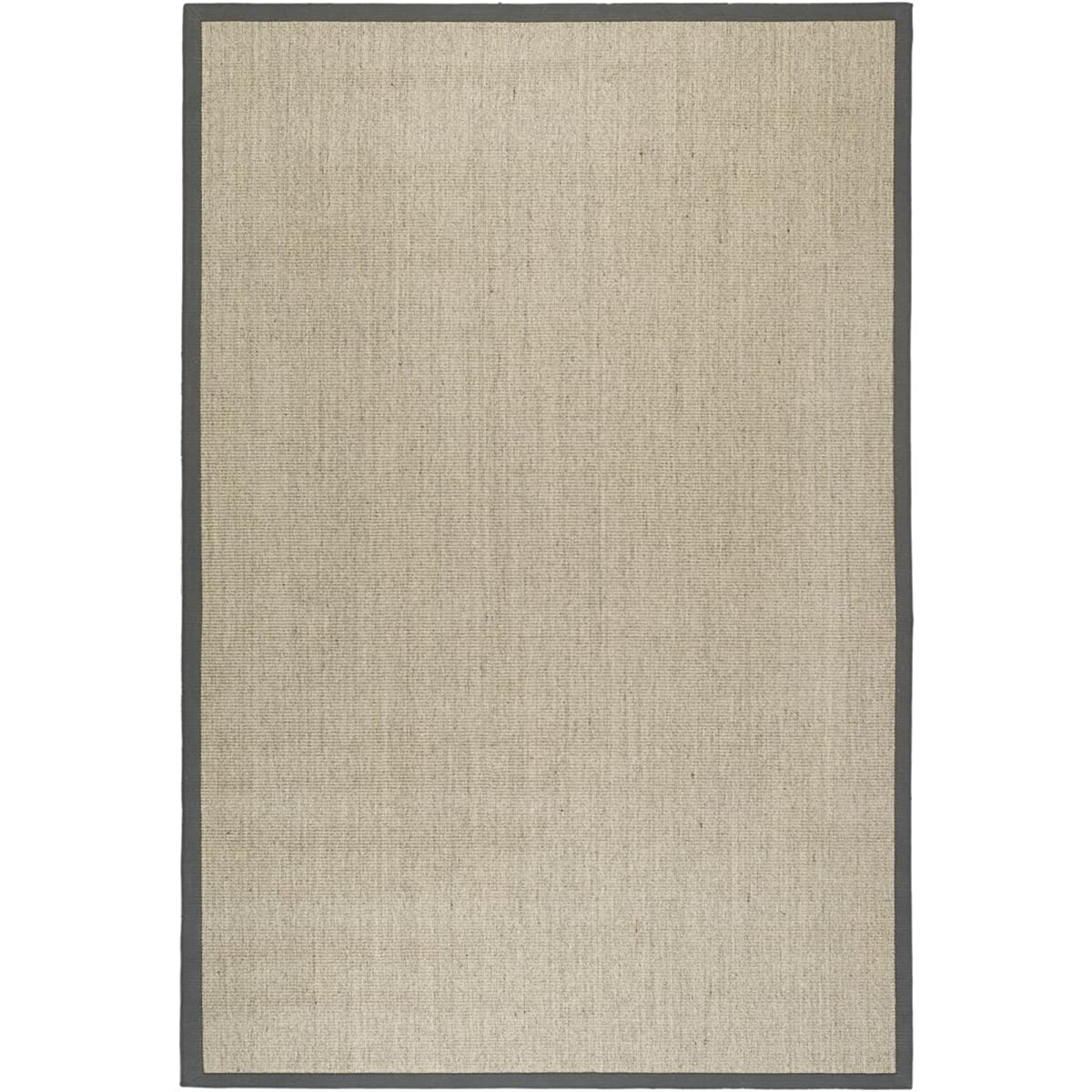 Safavieh Natural Fiber Collection NF441B Hand Woven Marble and Grey Sisal Area Rug (8 x 10)