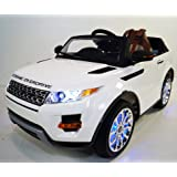 Ride On Car RANGE ROVER For Kids Model SX118 Battery Ride On Toy With Control Parents Ride On Power Wheel,LCD Kids Ride On