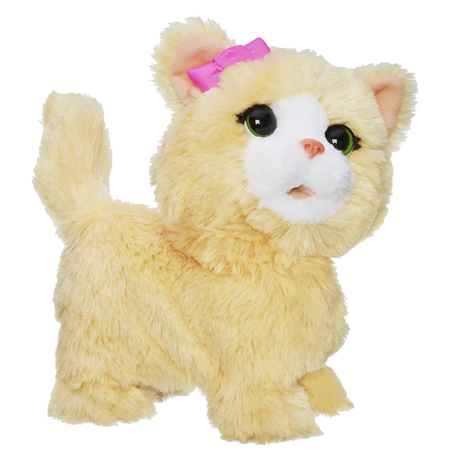 Fur Real Friends Happy to See Me Pets My Bouncin' Kitty Pet Plush
