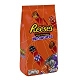 REESE'S Halloween Candy, Chocolate Peanut Butter Cup Miniatures, Perfect for Halloween Decorations, 36 Ounce (Tamaño: 36 Ounce)
