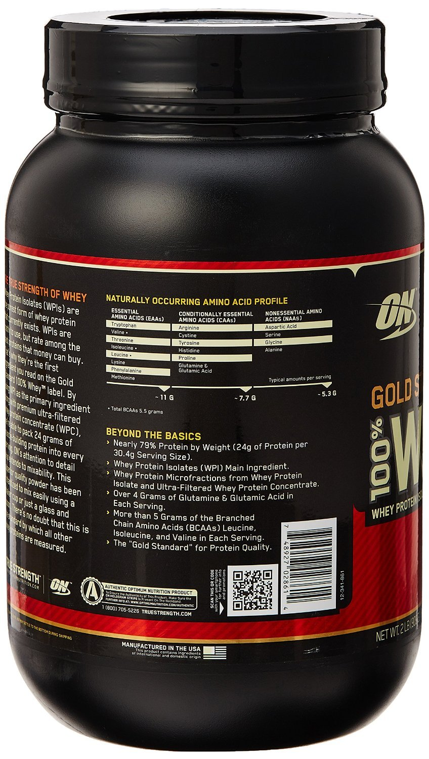 ON Whey Gold Standard - 2 lb Double Rich Chocolate