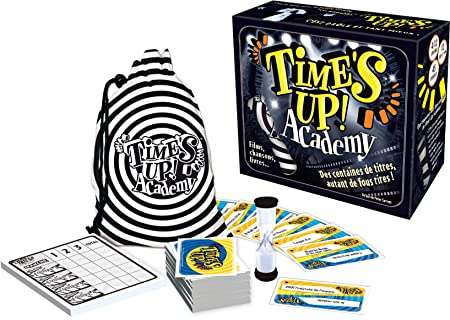 Asmodee - TU04 - Jeu d'ambiance - Time's Up! Academy