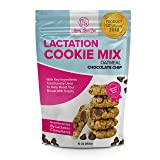Lactation Cookies with Blessed Thistle - Lactation Cookie Mix Formulated for Breastfeeding Mothers with Key Ingredients To Help Boost and Support Breast Milk Supply To Nursing Moms