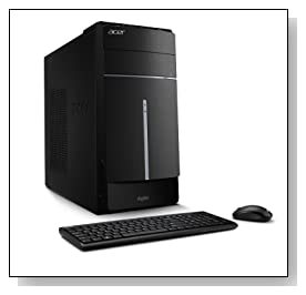 Acer Aspire ATC-605-UR2A Desktop (Black) Review