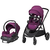 Maxi-COSI Zelia 5-in-1 Modular Travel System - Stroller and Mico 30 Infant Car Seat Set, Violet Caspia (Color: Violet Caspia)