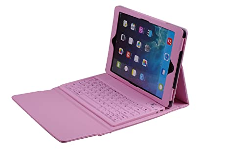 Battop Pink Bluetooth Keyboard